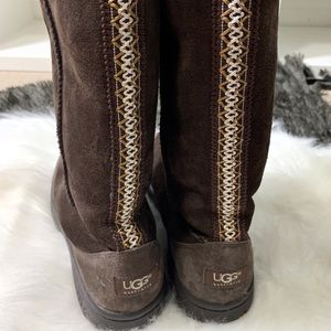 Ugg Ultimate Tall Braided Boots Winter Style 5340